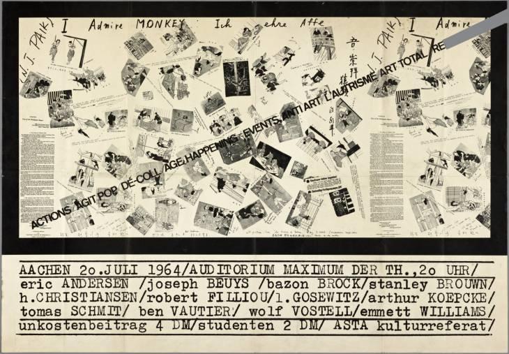 Action, Agit-Pop, De-Coll/age, Happenings, Events, L'Autrisme, Art Total, Re-Fluxus - Joseph Beuys