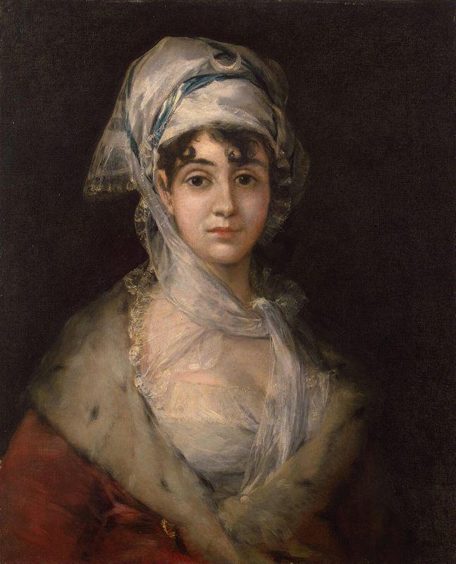Actress Antonia Zarate - Francisco Goya