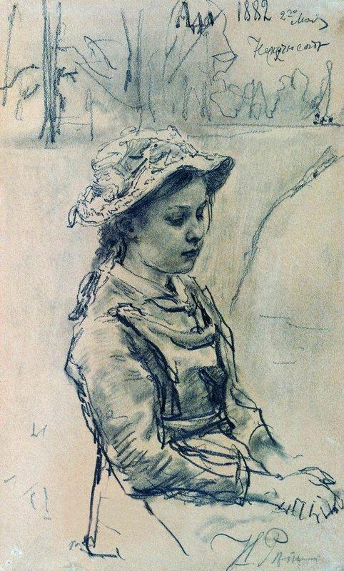 Ada girl - Ilya Repin