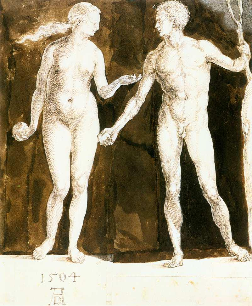 Adam and Eve - Albrecht Durer