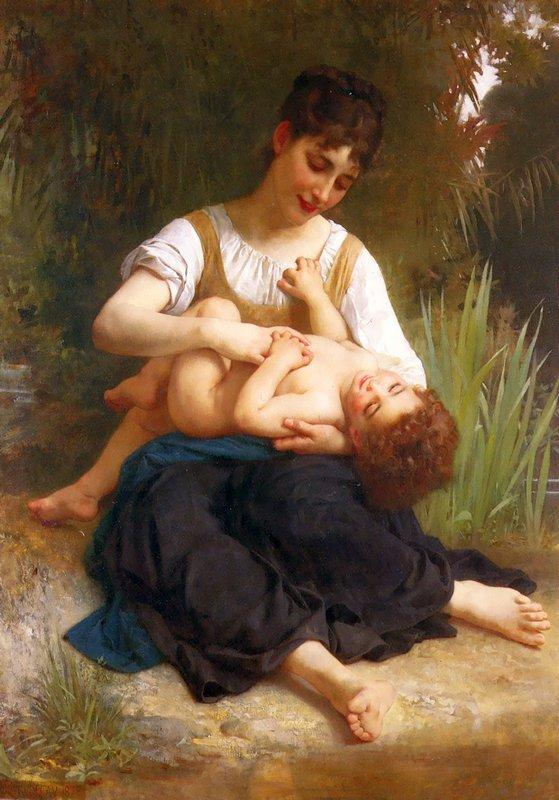 Adolphus Child And Teen - William-Adolphe Bouguereau