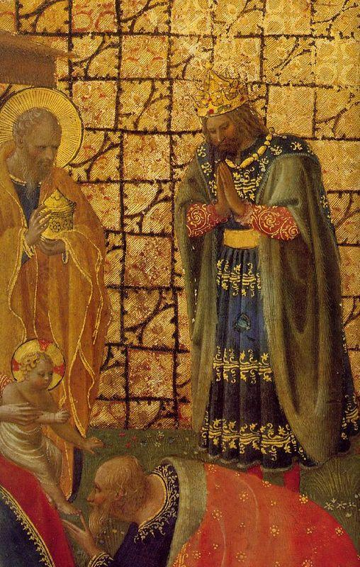 Adoration and Annunciation  - Fra Angelico