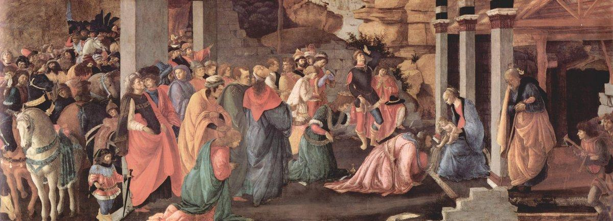 Adoration of the Magi - Sandro Botticelli