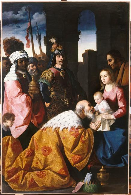 Adoration of the Magi - Francisco de Zurbaran