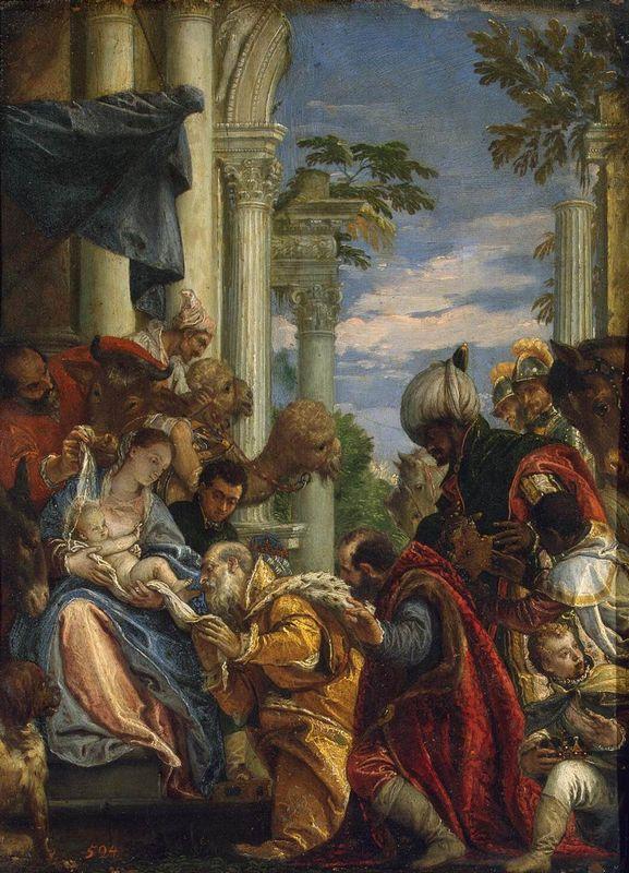 Adoration of the Magi - Albrecht Durer