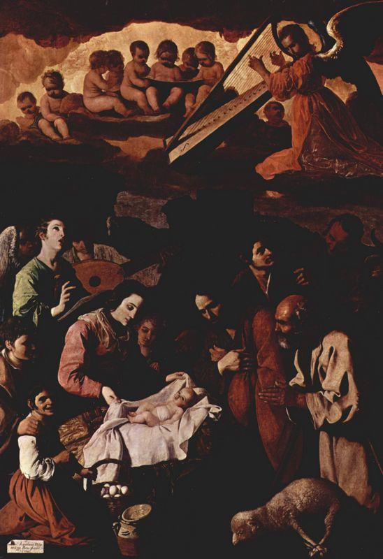 Adoration of the Shepherds - Francisco de Zurbaran
