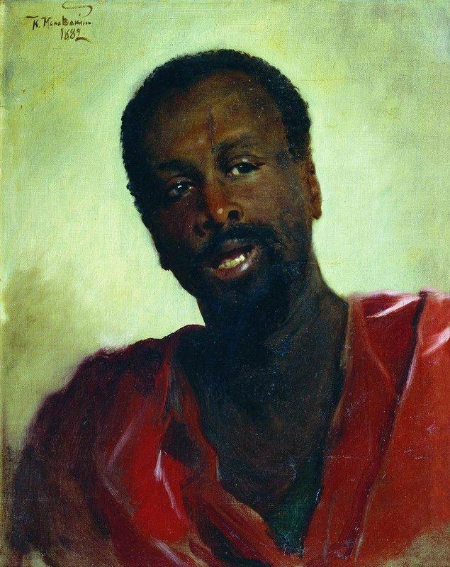 African - Konstantin Makovsky