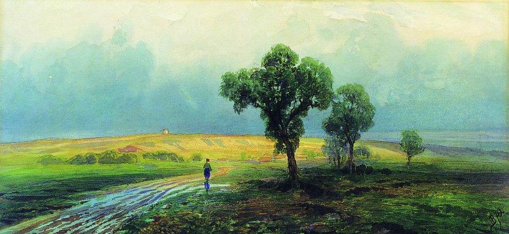 After a Heavy Rain - Fyodor Vasilyev