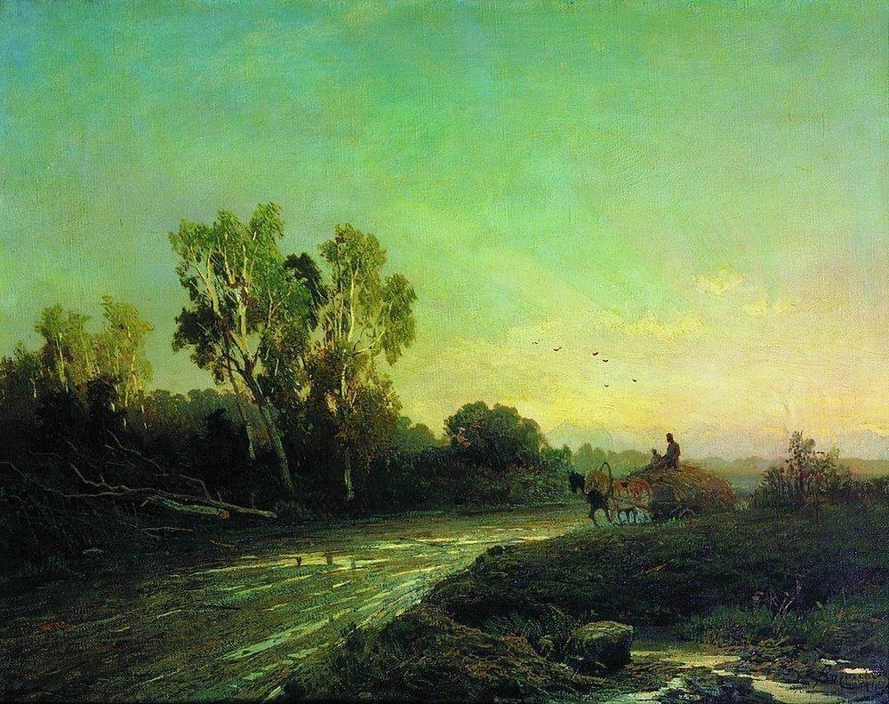 After a Rain - Fyodor Vasilyev