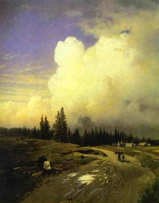 After a Thunderstorm - Aleksey Savrasov