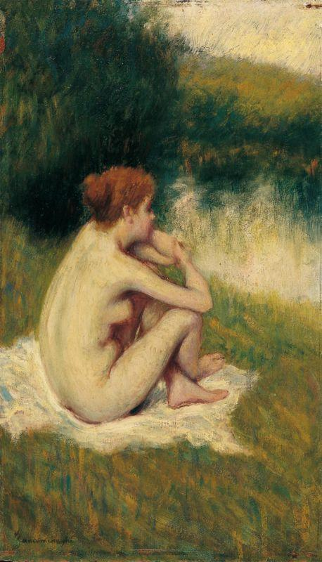 After Bath - Federico Zandomeneghi