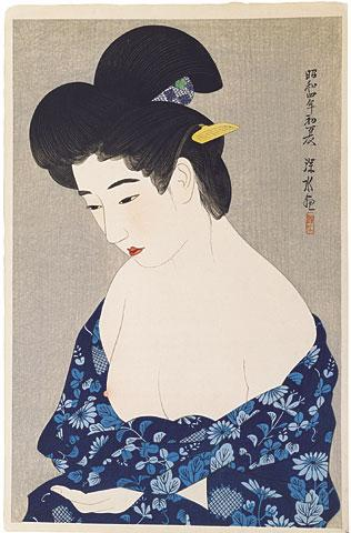 After the Bath - Ito Shinsui