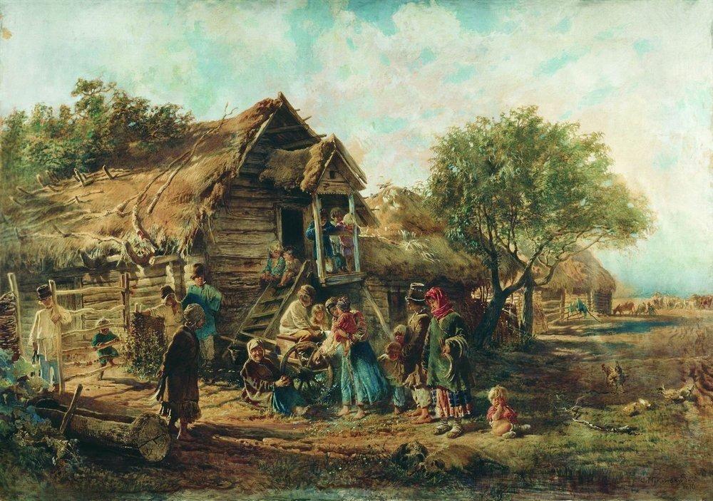 After the Market - Konstantin Makovsky