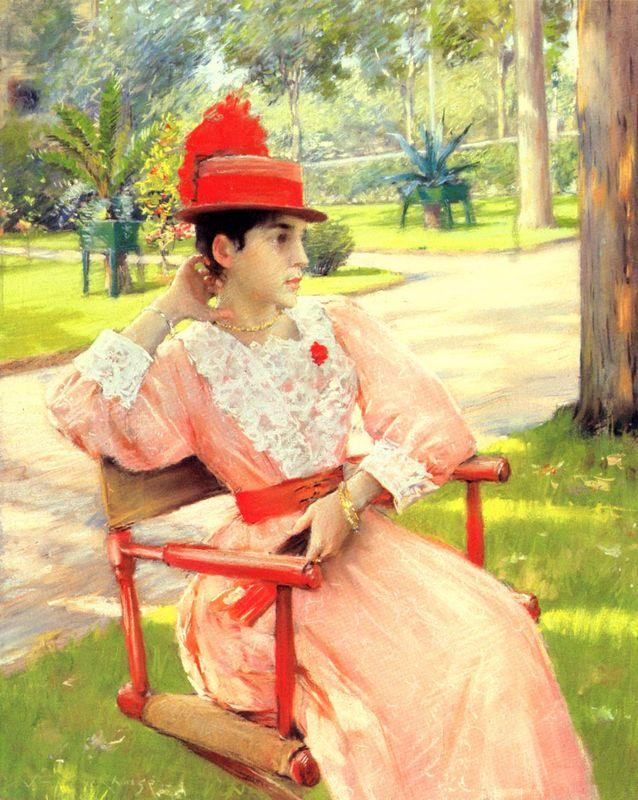Afternoon In The Park - William Merritt Chase