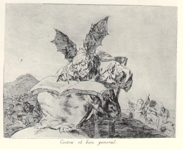 Against the common good - Francisco Goya