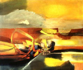 Agua calida - Alejandro Obregon