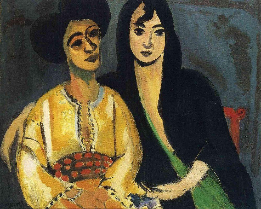 Aicha and Laurette  - Henri Matisse