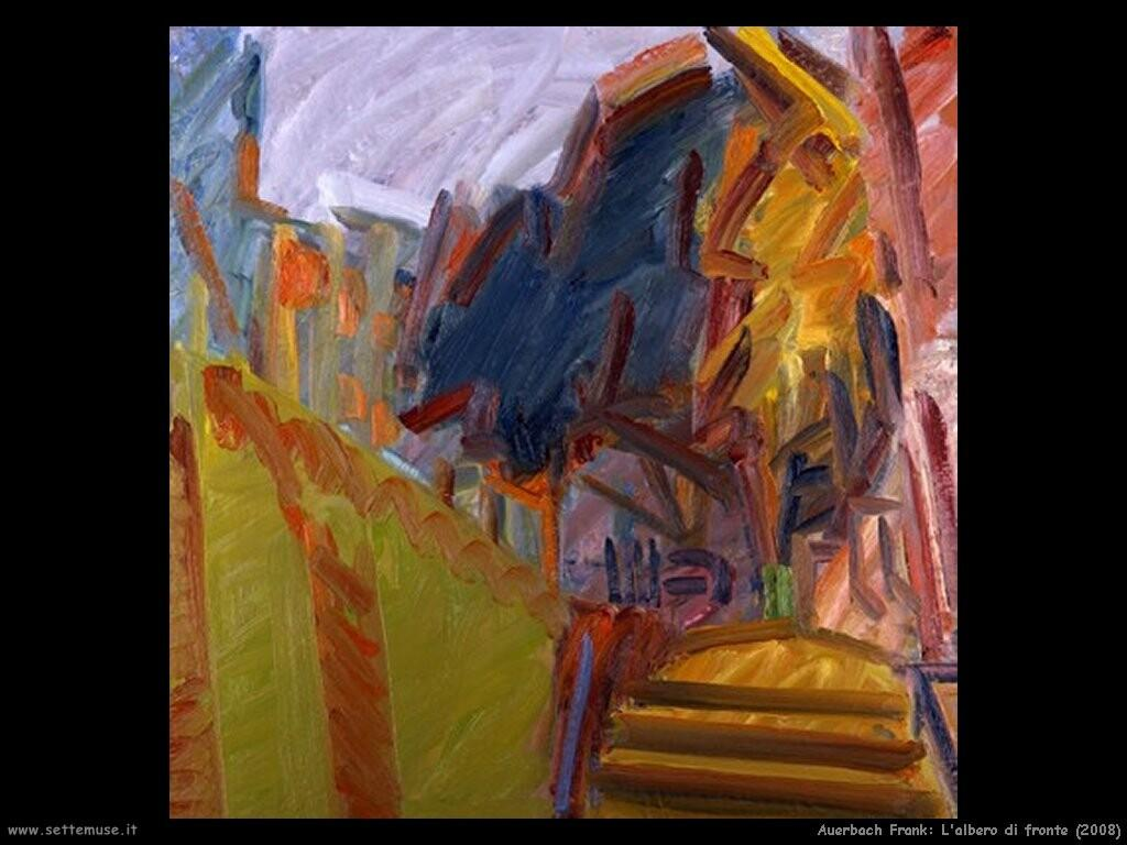 Albero di Fronte - Frank Auerbach