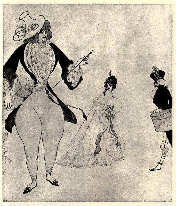 Albert in search of his ideals - Aubrey Beardsley