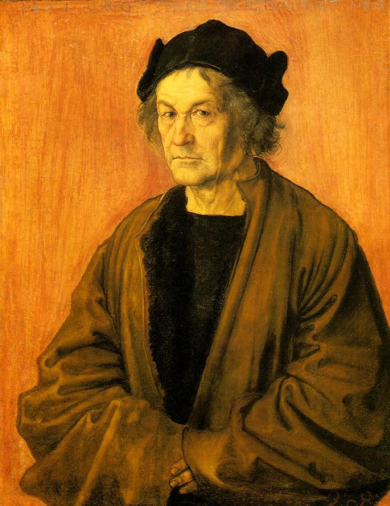 Albrecht Durer's Father - Albrecht Durer