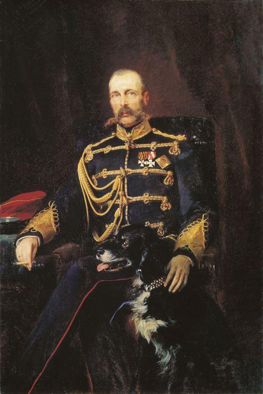 Alexander II of Russia - Konstantin Makovsky