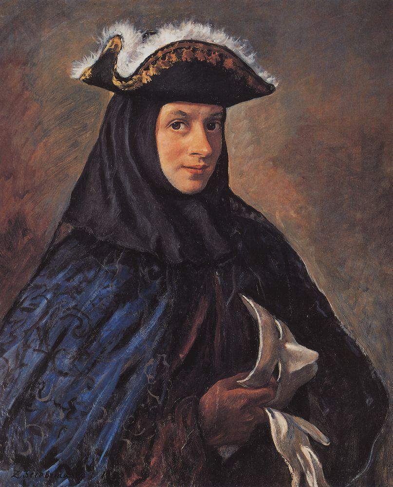 Alexander in costume - Zinaida Serebriakova