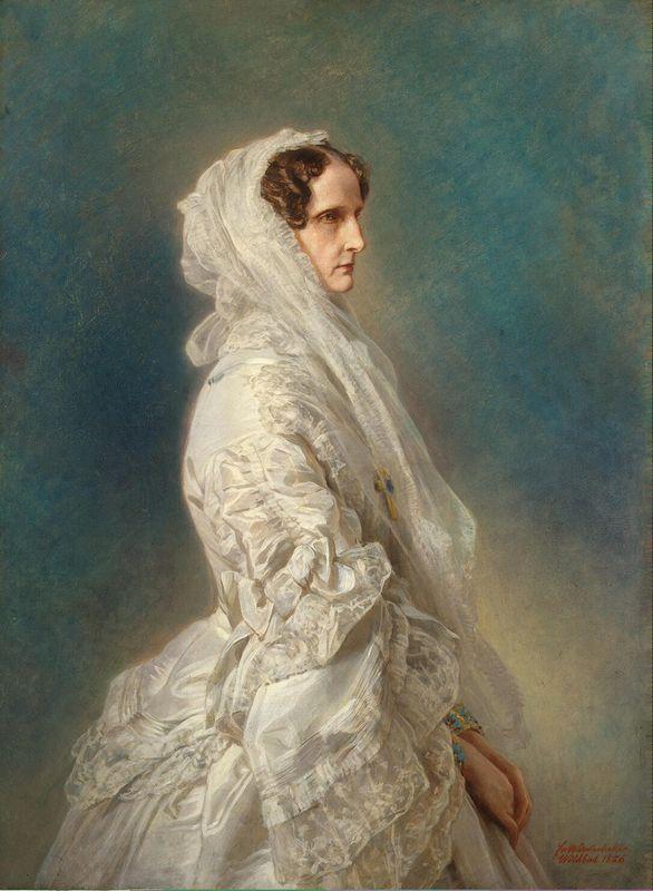 Alexandra Feodorovna - Franz Xaver Winterhalter