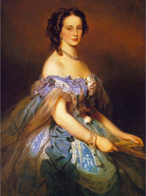 Alexandra Iosifovna, Grand Duchess of Russia, Princess Alexandra of Altenburg - Franz Xaver Winterhalter
