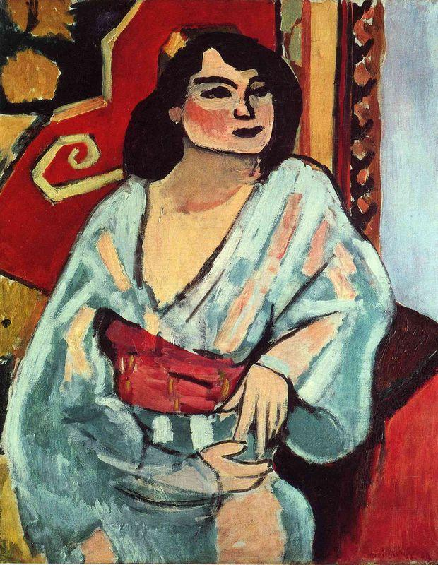 Algerian Woman  - Henri Matisse
