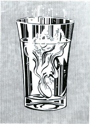 Alka Seltzer  - Roy Lichtenstein