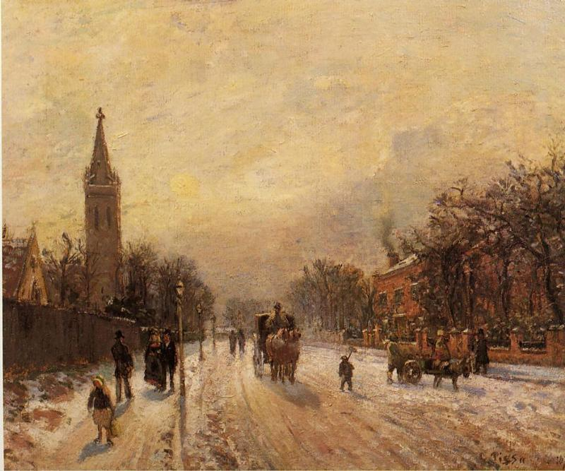 All Saints' Church, Upper Norwood - Camille Pissarro