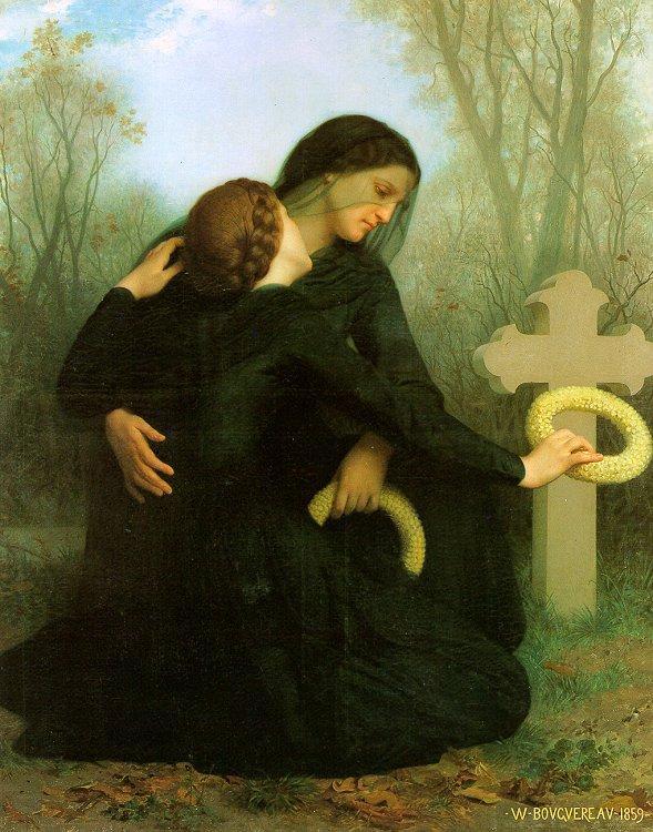 All Saints Day - William-Adolphe Bouguereau