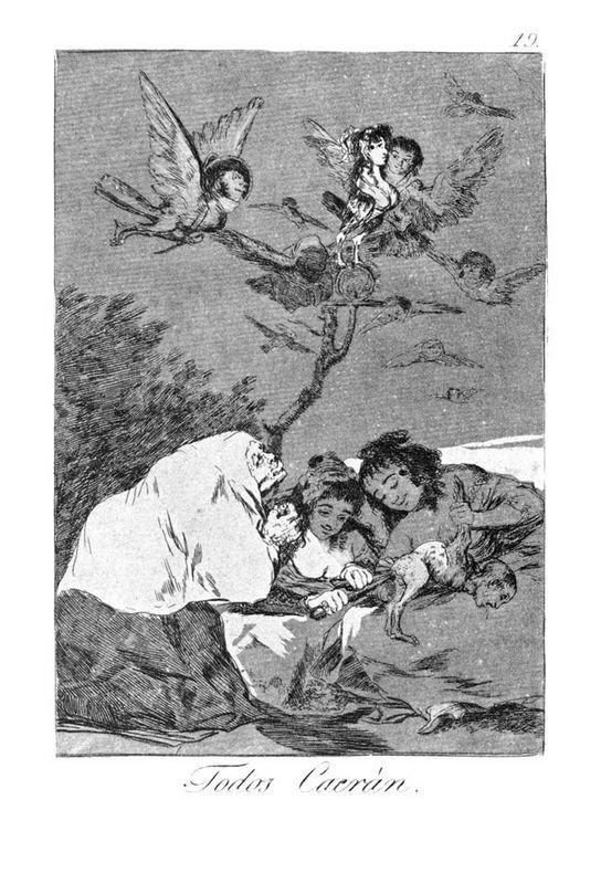 All will fall - Francisco Goya