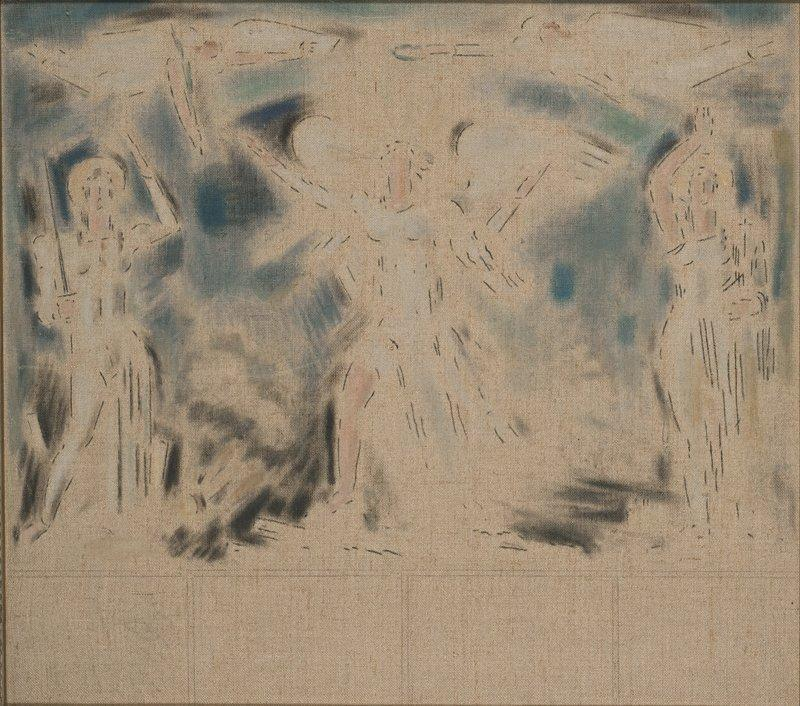 Allegorical scene - Konstantinos Parthenis