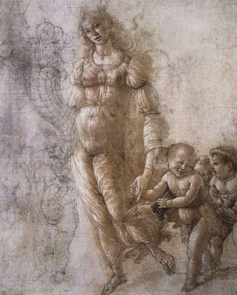 Allegory of Abundance - Sandro Botticelli
