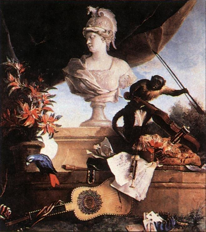 Allegory of Europe - Jean-Baptiste Oudry