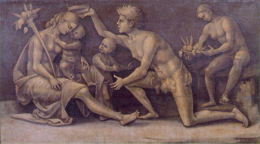 Allegory of Fecundity and Abundance - Luca Signorelli