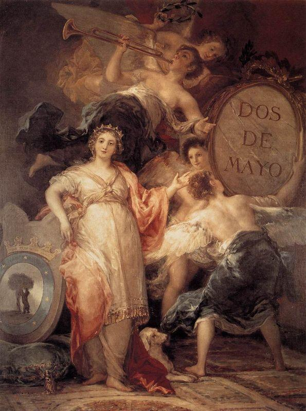 Allegory of the City of Madrid - Francisco Goya