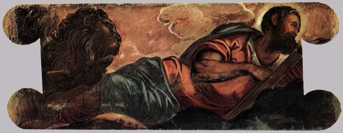 Allegory of the Scuola di San Marco - Tintoretto