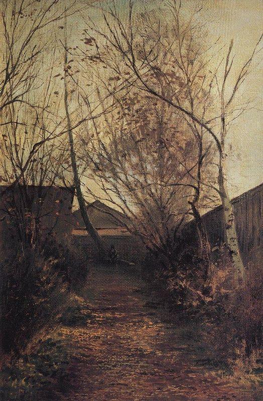Alley - Aleksey Savrasov