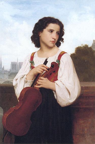 Alone in the world - William-Adolphe Bouguereau