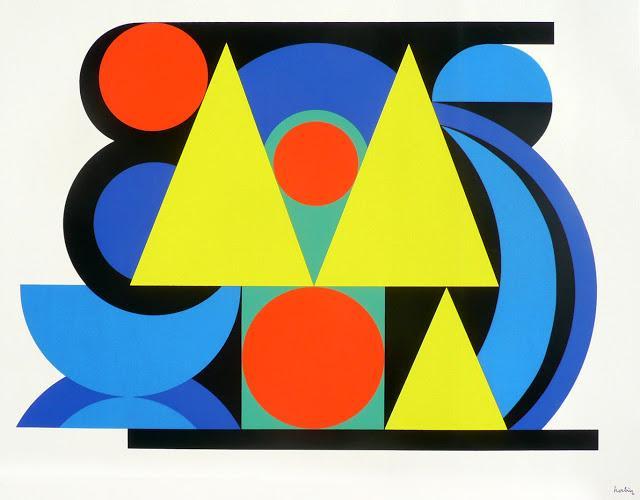Alphabet Plastique II  - Auguste Herbin