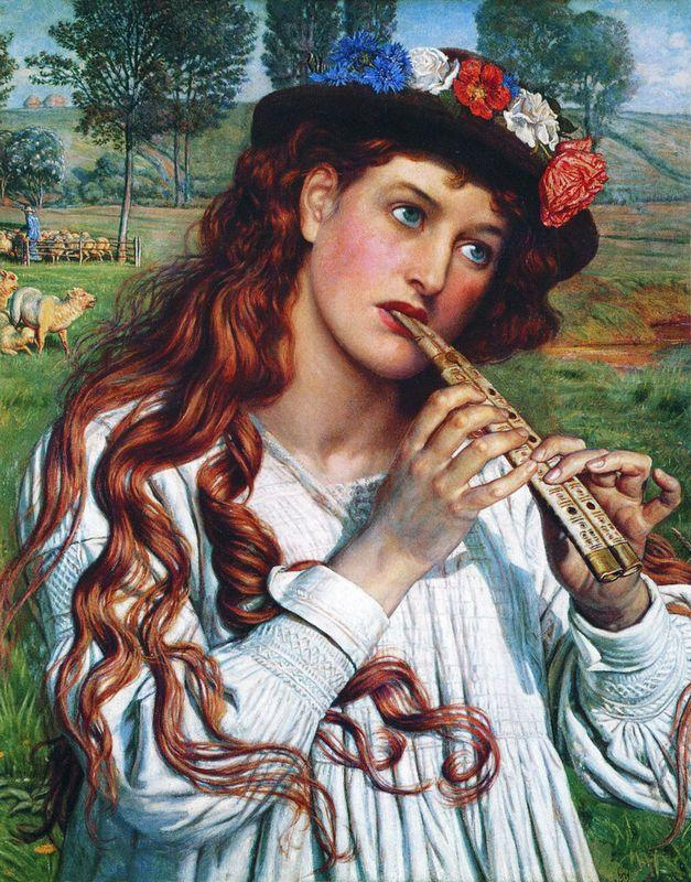 Amaryllis  - William Holman Hunt