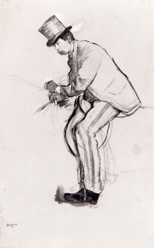 Amateur Jockey - Edgar Degas