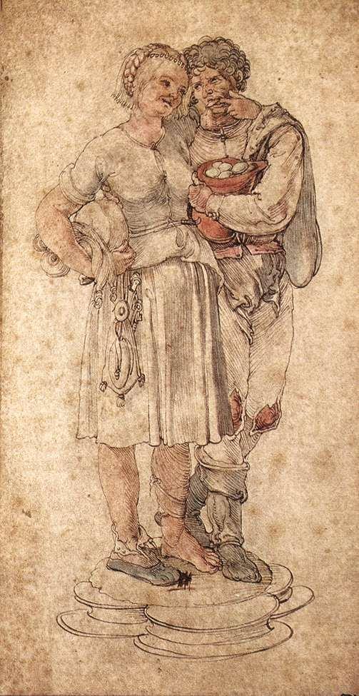 Amorous Peasants - Albrecht Durer