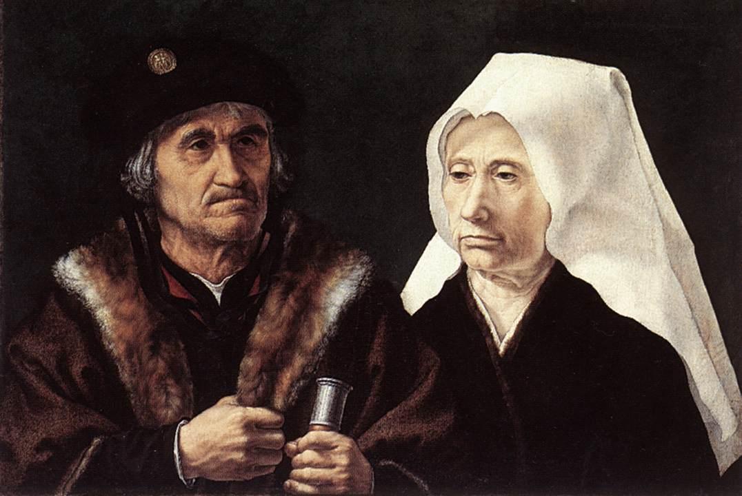 An Elderly Couple - Mabuse