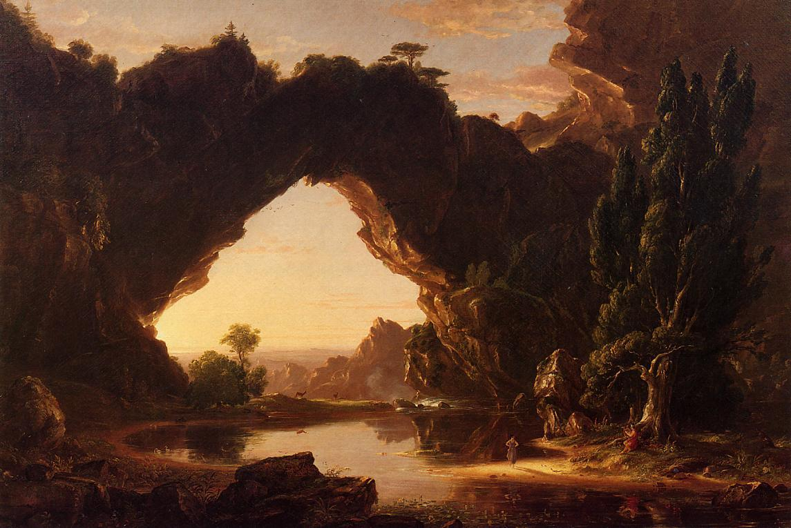 An Evening in Arcadia - Thomas Cole