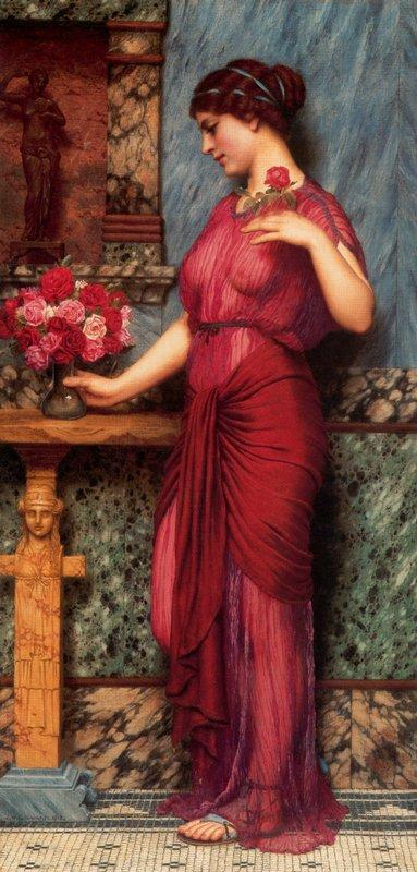 An Offering to Venus - John William Godward