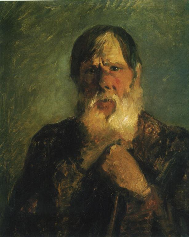 An Old Peasant - Nikolai Ge