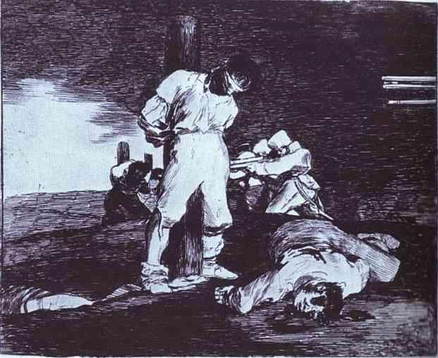 And It Cannot Be Changed - Francisco Goya